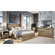 Picture of Rusthaven Queen Storage Bed